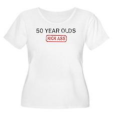 50 YEAR OLDS kick ass T-Shirt