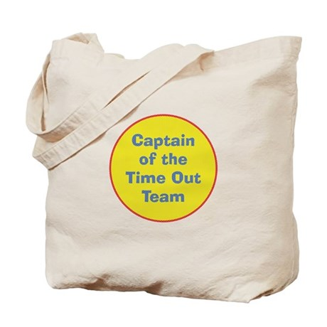 Time Out Team Captain Tote Bag