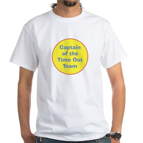 Time Out Team Captain White T-Shirt
