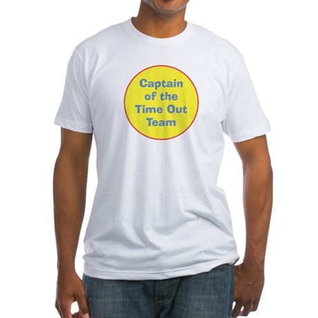 Time Out Team Captain Fitted T-Shirt