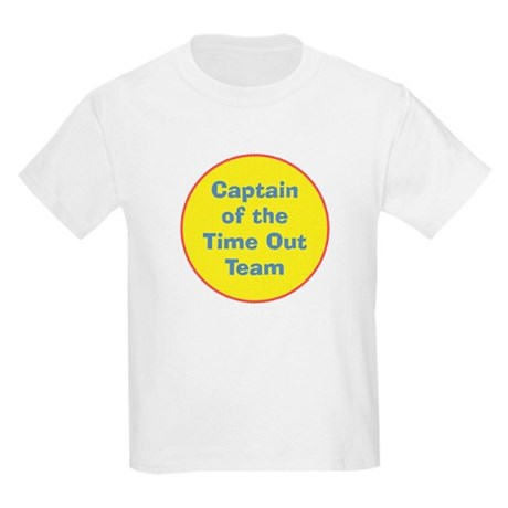 Time Out Team Captain Kids Light T-Shirt