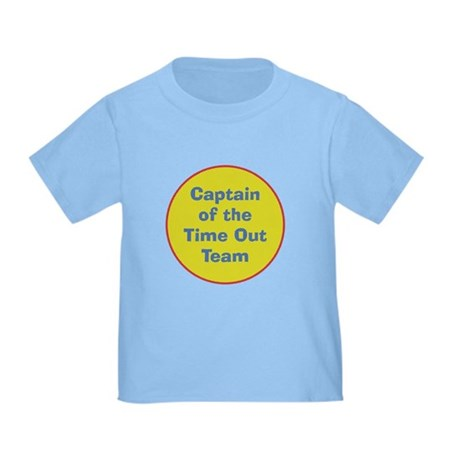 Time Out Team Captain Baby/Toddler T-Shirt