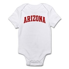 ARIZONA (red) Infant Bodysuit