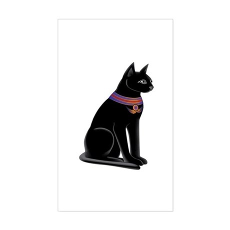 Cat Goddess CP http://www.cafepress.com/mf/21084516/egyptian-cat-goddess-bastet-rectangle_sticker