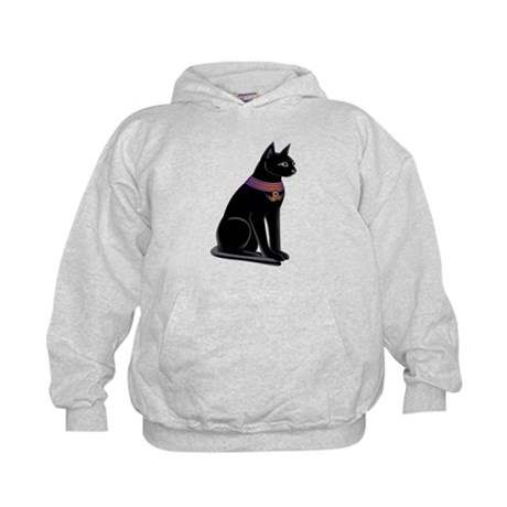 Egyptian Cat Goddess Bastet Kids Hoodie
