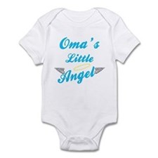 Oma's Little (Boy) Angel Infant Bodysuit