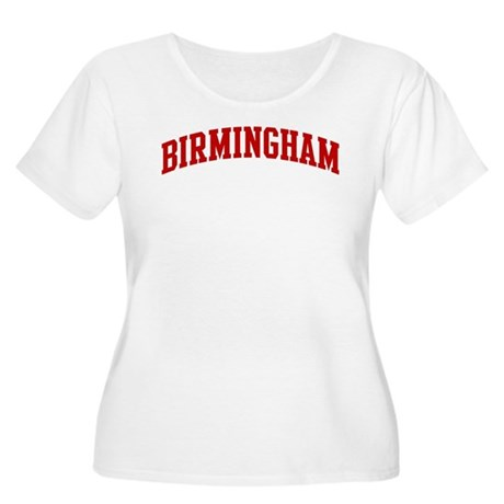 BIRMINGHAM (red) Women's Plus Size Scoop Neck T-Sh
