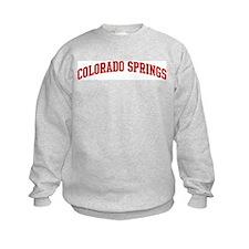 COLORADO SPRINGS (red) Sweatshirt