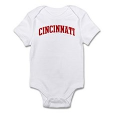 CINCINNATI (red) Infant Bodysuit