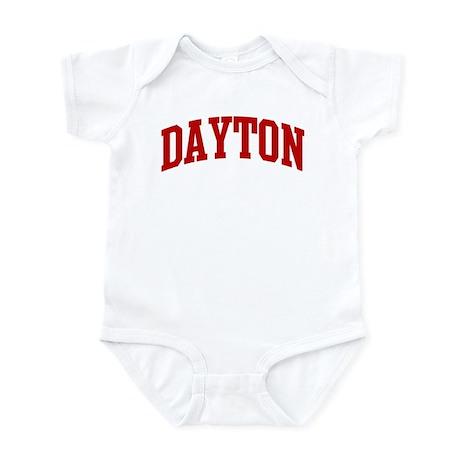 DAYTON (red) Infant Bodysuit