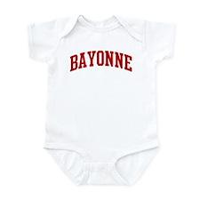 BAYONNE (red) Infant Bodysuit