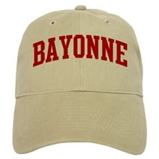 BAYONNE (red) Baseball Cap