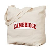 CAMBRIDGE (red) Tote Bag
