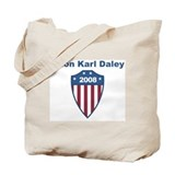 Orion Karl Daley 2008 emblem Tote Bag
