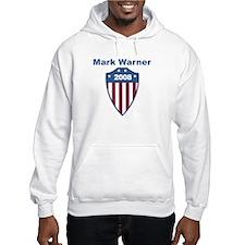 Mark Warner 2008 emblem Hoodie