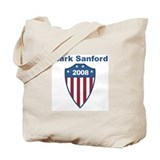 Mark Sanford 2008 emblem Tote Bag