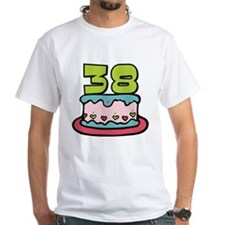 38 Year Old Birthday Cake Shirt