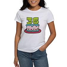 36 Year Old Birthday Cake Women's T-Shirt
