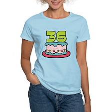 36 Year Old Birthday Cake Women's Light T-Shirt