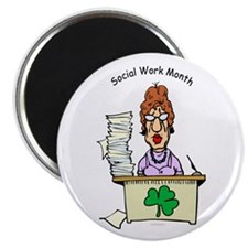 Social Work Month Desk Magnets (10 pack)