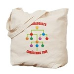 Genealogists Christmas Tree Tote Bag
