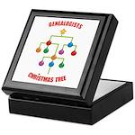 Genealogists Christmas Tree Keepsake Box