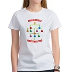 Genealogists Christmas Tree Women's T-Shirt