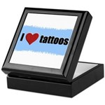 I LOVE TATTOOS Keepsake Box