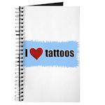 I LOVE TATTOOS Journal