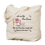 Women are Like Tea Leaves Tote Bag