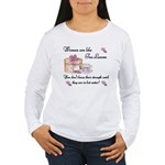 Women are Like Tea Leaves Women's Long Sleeve T-Sh