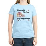 Women are Like Tea Leaves Women's Light T-Shirt