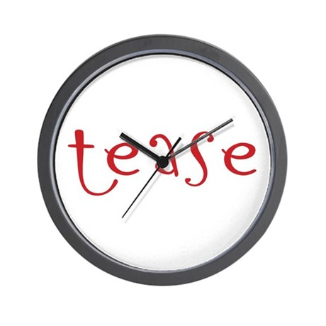 tease Wall Clock