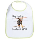 Lineman Daddy Bib