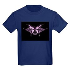 Purple Tribal Butterfly T