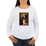 Lincoln's German Shepherd Women's Long Sleeve T-Sh