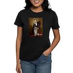 Lincoln's German Shepherd Women's Dark T-Shirt