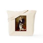 Lincoln's German Shepherd Tote Bag