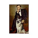 Lincoln's German Shepherd Rectangle Magnet