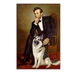 Lincoln's German Shepherd Postcards (Package of 8)