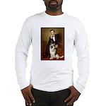 Lincoln's German Shepherd Long Sleeve T-Shirt