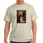 Lincoln's German Shepherd Light T-Shirt