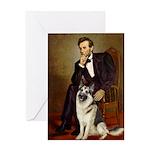 Lincoln's German Shepherd Greeting Card