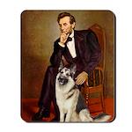 Lincoln's German Shepherd Mousepad