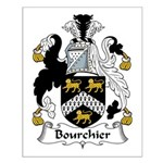 Bourchier Family Crest Small Poster