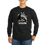Bourchier Family Crest Long Sleeve Dark T-Shirt