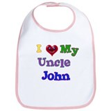 I LOVE MY UNCLE JOHN Bib