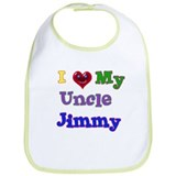 I LOVE MY UNCLE JIMMY Bib