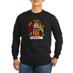 Bonner Family Crest Long Sleeve Dark T-Shirt