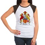 Bonner Family Crest Women's Cap Sleeve T-Shirt